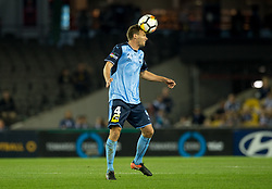 October 7, 2017 - Melbourne, Victoria, Australia - Alex Wilkinson (#4) of Sydney FC in action during the round 1 match between Melbourne Victory and Sydney FC at Etihad Stadium in Melbourne, Australia during the 2017/2018 Australian A-League season. (Credit Image: © Theo Karanikos via ZUMA Wire)