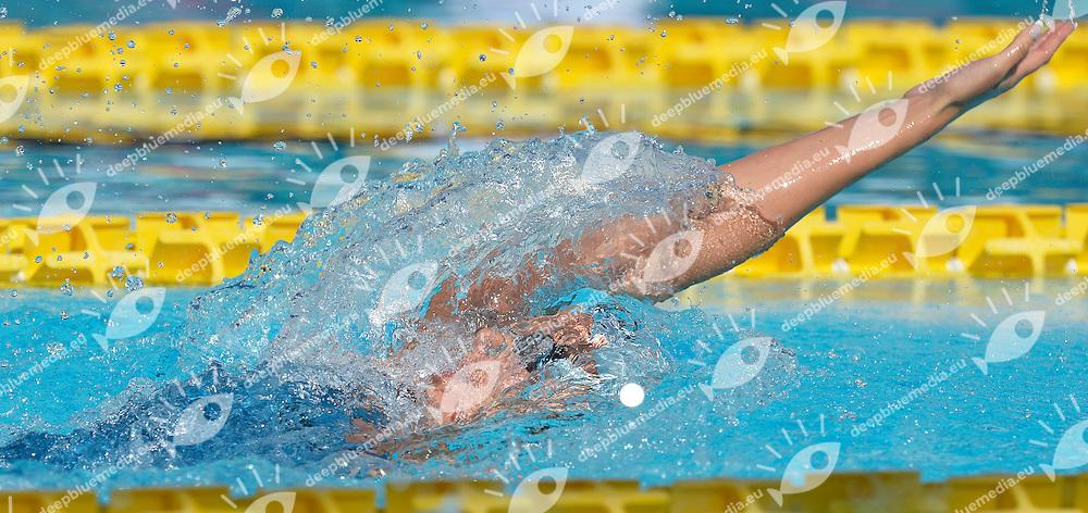 Federica Pellegrini Italia 200m Backstroke Women <br /> Roma 15/6/2013 Piscina del Foro Italico <br /> Nuoto 50mo trofeo Settecolli<br /> Settecolli 50th International swimming trophy <br /> Foto Andrea Staccioli Insidefoto