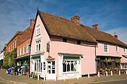The Essex Rose tearoom, Dedham, Essex, England
