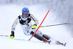 06.01.2015, Sljeme, Zagreb, CRO, FIS Weltcup Ski Alpin, Zagreb, Herren, Slalom, 1. Lauf, im Bild Mattias Hargin (SWE) // Mattias Hargin of Sweden in action during 1st run of men's Slalom of FIS Ski Alpine Worldcup at the Sljeme in Zagreb, Croatia on 2015/01/06. EXPA Pictures © 2015, PhotoCredit: EXPA/ Pixsell/ Goran Stanzl<br /> <br /> *****ATTENTION - for AUT, SLO, SUI, SWE, ITA, FRA only*****