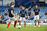 Portsmouth Forward, Conor Chaplin (19) during the EFL Sky Bet League 1 match between Portsmouth and Oxford United at Fratton Park, Portsmouth, England on 18 August 2018.