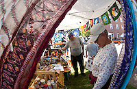 Multicultural Market Day in Laconia.  (Karen Bobotas/for the Laconia Daily Sun)