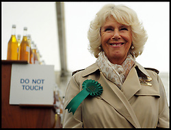 The Duchess of Cornwall during a tour of the Royal Bath & West Show, Royal Bath & West Showground, Shepton Mallet, Somerset, United Kingdom, Wednesday, 28th May 2014. Picture by Andrew Parsons / i-Images