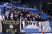 DESCRIZIONE : Pesaro Lega A 2013-14 VL Pesaro Granarolo Bologna<br /> GIOCATORE : tifosi bologna<br /> CATEGORIA : supporters tifosi curva<br /> SQUADRA : VL Pesaro Granarolo Bologna<br /> EVENTO : Campionato Lega A 2013-2014<br /> GARA : VL Pesaro Granarolo Bologna<br /> DATA : 27/04/2014<br /> SPORT : Pallacanestro <br /> AUTORE : Agenzia Ciamillo-Castoria/C.De Massis<br /> Galleria : Lega Basket A 2013-2014  <br /> Fotonotizia : Pesaro Lega A 2013-14 VL Pesaro Granarolo Bologna<br /> Predefinita :