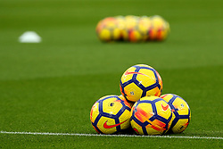 The Nike Ordem match balls are introduced for the winter period - Mandatory by-line: Matt McNulty/JMP - 28/10/2017 - FOOTBALL - Anfield - Liverpool, England - Liverpool v Huddersfield Town - Premier League