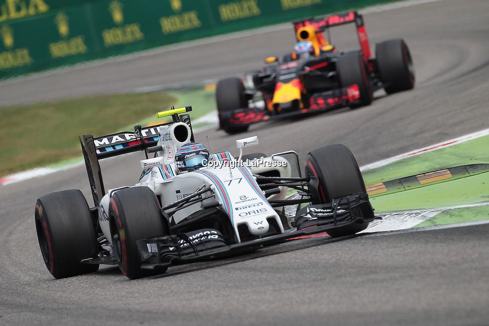 &copy; Photo4 / LaPresse<br /> 04/09/2016 Monza, Italy<br /> Sport <br /> Grand Prix Formula One Italia 2016<br /> In the pic: Valtteri Bottas (FIN) Williams F1 Team FW38
