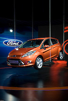The new Ford Fiesta at the Shanghai autoshow 2009