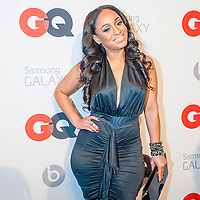 Actress Rashidah posing at the GQ & Lebron James NBA All Star Style party sponsored by Samsung Galaxy on Saturday, February 15, 2014, at the Ogden Museum of Southern Art in New Orleans, Louisiana with live jam session from grammy Award-winning Artist The Roots. Photo Credit: Gustavo Escanelle / Retna Ltd.
