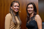(L) Katarzyna Matkowska - Marin's wife and (R) Marta Fyrstenberg - Mariusz's wife while official dinner at Regent Hotel two days before the BNP Paribas Davis Cup 2014 between Poland and Croatia at Torwar Hall in Warsaw on April 2, 2014.<br /> <br /> Poland, Warsaw, April 2, 2014<br /> <br /> Picture also available in RAW (NEF) or TIFF format on special request.<br /> <br /> For editorial use only. Any commercial or promotional use requires permission.<br /> <br /> Mandatory credit:<br /> Photo by &copy; Adam Nurkiewicz / Mediasport