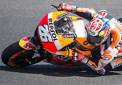 October 20, 2017 - Melbourne, Victoria, Australia - Spanish rider Dani Pedrosa (#26) of Repsol Honda Team in action during the second free practice session at the 2017 Australian MotoGP at Phillip Island, Australia. (Credit Image: © Theo Karanikos via ZUMA Wire)
