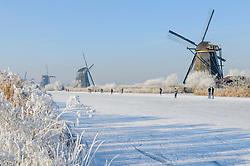 Kinderdijk, Molenlanden, Zuid Holland, Nederland, Netherlands