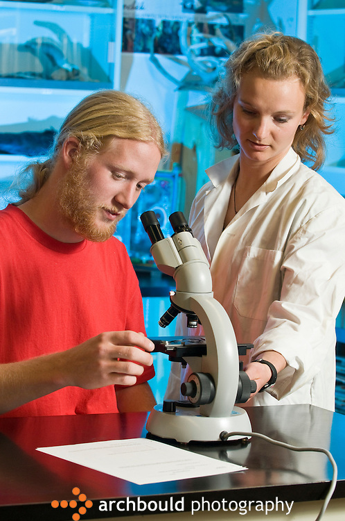 College instructor with biology student.<br /> <br /> NOT IN YOUR BUDGET? Contact Cathie for a price specific to your project.