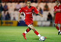 Fotball<br /> England<br /> Foto: Colorsport/Digitalsport<br /> NORWAY ONLY<br /> <br /> Football Carling Cup First Round Colchester United v Leyton Orient Andros Townsend of Leyton Orient at Weston Homes Community Stadium, Colchester 11/08/2009