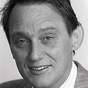 NLD/Huizen/19911114 - Harry Meijers CDA raadslid gemeenteraad Huizen