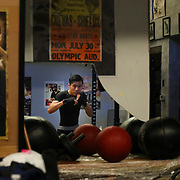 With hard work and dedication, Thomas Woo, 16, has spent five years training and recently started working out at La Habra Boxing Club in hopes of one day fulfilling his dream of fighting in the Tokyo 2020 Olympics
