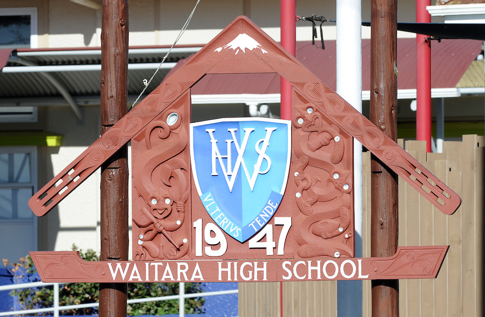 Waitara High School. Waitara, New Zealand, Friday, June 21 2013. Credit:SNPA / Ross Setford