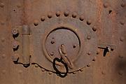 Old Steam Furnace Door
