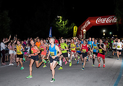 Roman Kejzar at 10th Nocna 10ka 2016, traditional run around Bled's lake, on July 09, 2016 in Bled,  Slovenia. Photo by Vid Ponikvar / Sportida