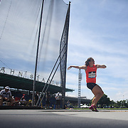 Melina Robert-Michon, France, in action in the Women's Discus throw event during the Diamond League Adidas Grand Prix at Icahn Stadium, Randall's Island, Manhattan, New York, USA. 13th June 2015. Photo Tim Clayton