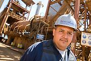 Armor security projects a mine near Caracas, Venezuela.