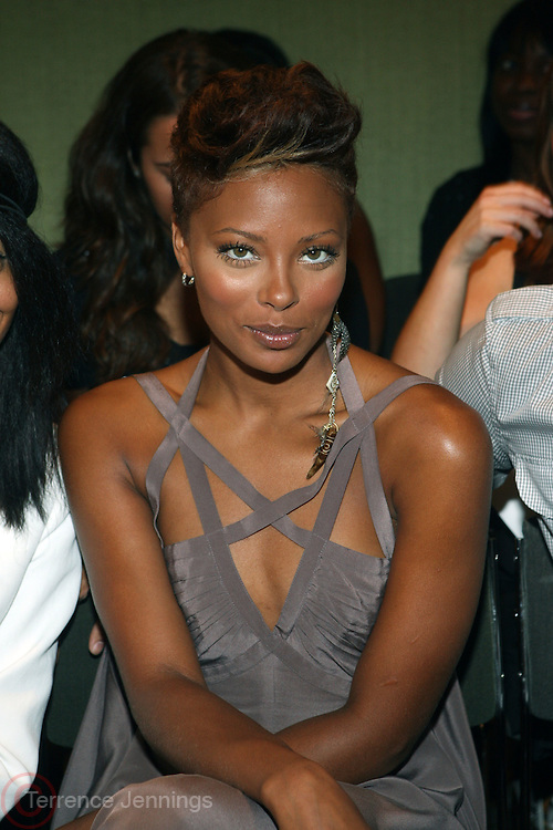 "Eva Marcille at b.michael America Spring 2010 Collection "" Advanced American Style "" held at Christie's in Rockefeller Plaza on September 16, 2009 in New York City."