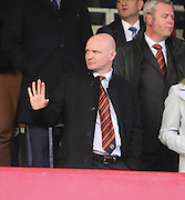 Dundee United chairman Stephen Thompson - Dundee v Dundee United - SPFL Premiership at Dens Park<br /> <br />  - &copy; David Young - www.davidyoungphoto.co.uk - email: davidyoungphoto@gmail.com