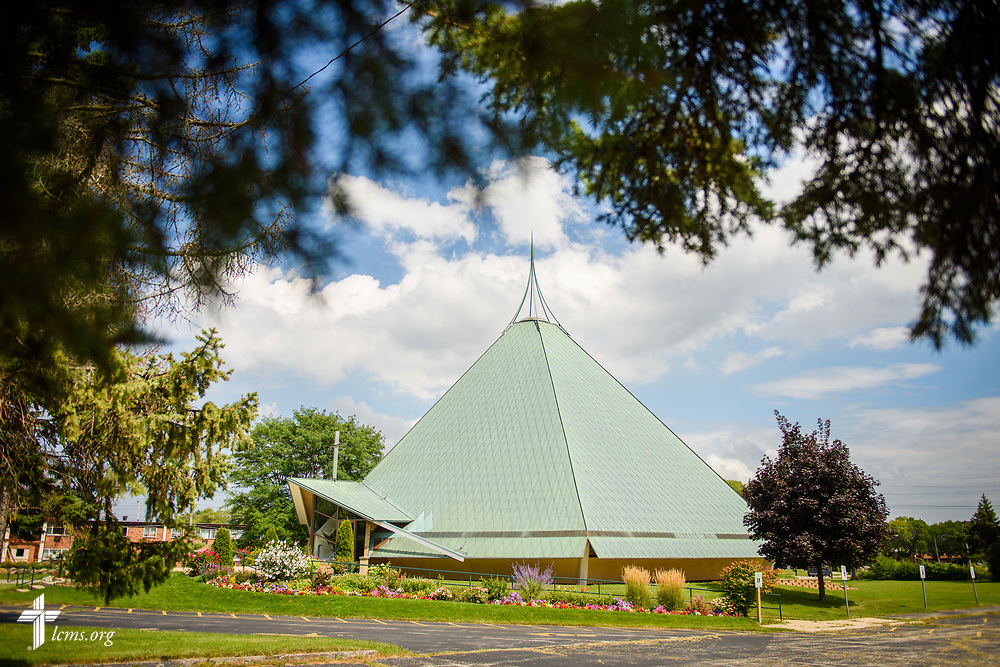 Exterior photograph of Benediction Lutheran Church, Milwaukee, Wis., on Monday, Aug. 14, 2017. LCMS Communications/Erik M. Lunsford