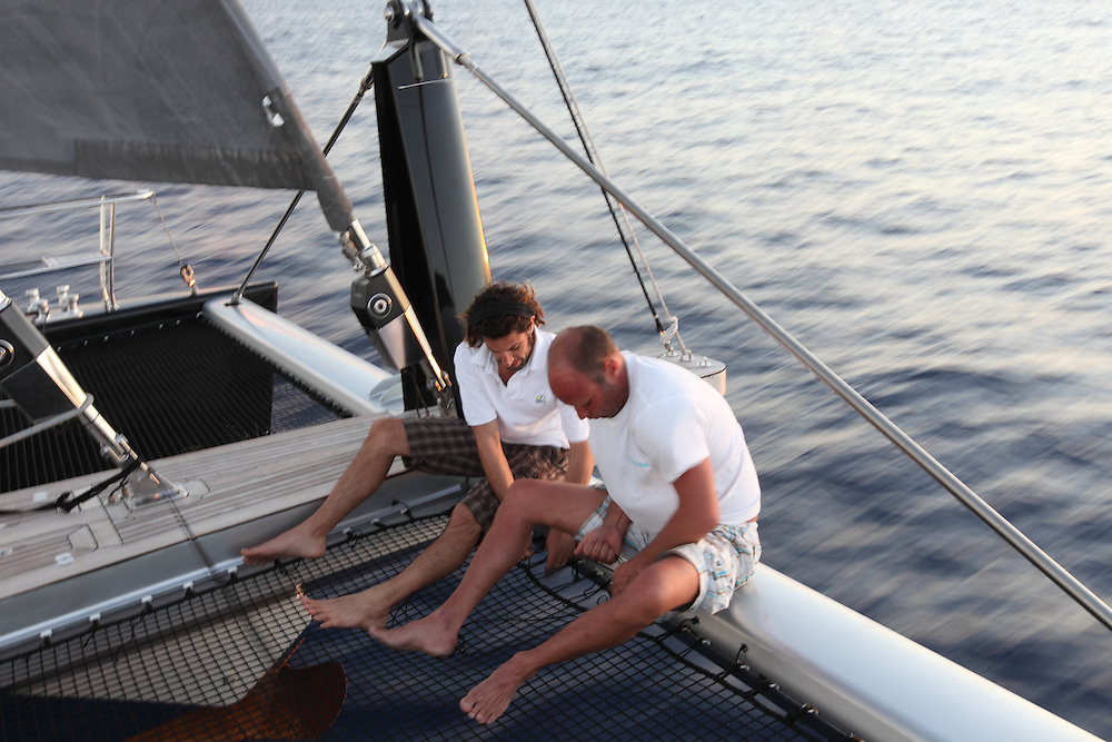 S/Y Wonderful, a 72ft catamaran, sailed across the Atlantic Ocean, stopping in Morocco for a week.