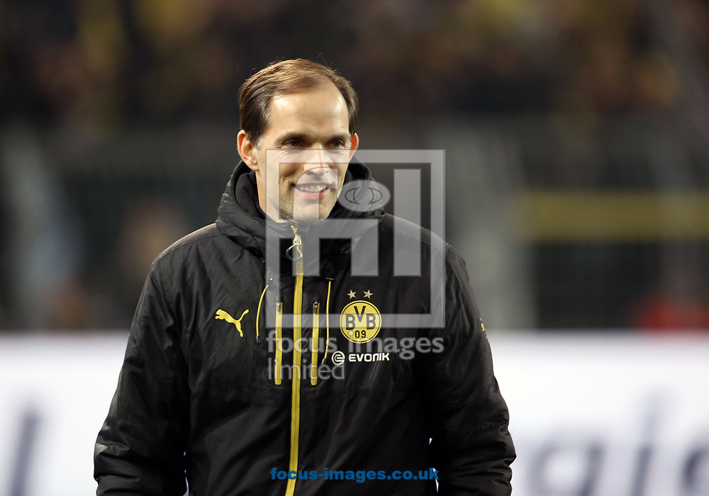 Thomas Tuchel, head coach of Borussia Dortmund and y of FC Ingolstadt 04 during the Bundesliga match at Signal Iduna Park, Dortmund<br /> Picture by EXPA Pictures/Focus Images Ltd 07814482222<br /> 17/03/2017<br /> *** UK &amp; IRELAND ONLY ***<br /> EXPA-EIB-170318-0069.jpg