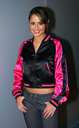 Cheryl Tweedy from pop band Girls Aloud during her guest appearance on MTV's TRL UK at the MTV Studios in Camden, north London.