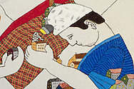 Great Tapestry of Scotland.  Panel Details<br /> picture by Alex Hewitt<br /> alex.hewitt@gmail.com<br /> 07789 871 540
