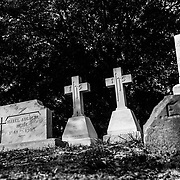 Gravestones are pictured at Oakdale Cemetery in Wilmington, N.C. Saturday October 19, 2019.(Jason A. Frizzelle/capefearphotos.com)