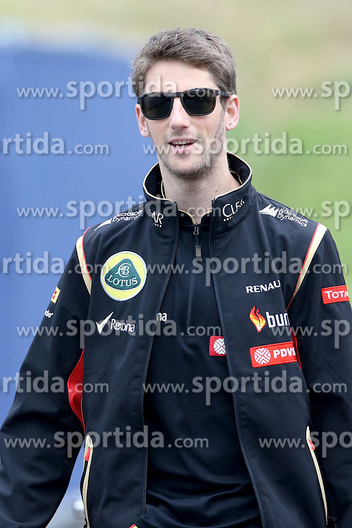 21.06.2014, Red Bull Ring, Spielberg, AUT, FIA, Formel 1, Grosser Preis von &Ouml;sterreich, Qualifying, im Bild Romain Grosjean (FRA) Lotus F1. // during the qualifying of the Austrian Formula One Grand Prix at the Red Bull Ring in Spielberg, Austria on 2014/06/21. EXPA Pictures &copy; 2014, PhotoCredit: EXPA/ Sutton Images/ Boland<br /> <br /> *****ATTENTION - for AUT, SLO, CRO, SRB, BIH, MAZ only*****