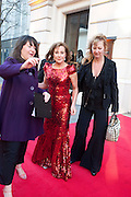 ZOE WANAMAKER, Olivier Awards 2012, Royal Opera House, Covent Garde. London.  15 April 2012.