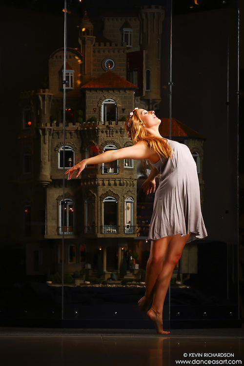 Dance As Art New York City Photography Project Astolat Castle Series with dancer, Claudia Maciejuk