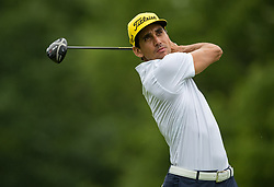 May 30, 2019 - Dublin, OH, U.S. - DUBLIN, OH - MAY 30: Rafa Cabrera Bello of Spain plays his shot from the 18th tee during the Memorial Tournament presented by Nationwide at Muirfield Village Golf Club on May 30, 2018 in Dublin, Ohio. (Photo by Adam Lacy/Icon Sportswire) (Credit Image: © Adam Lacy/Icon SMI via ZUMA Press)
