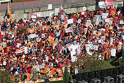 ESPN College Game Day from roof of Philips Arena