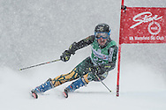 UVM Ski Carnival at Stowe.  Giant Slalom and Slalom.