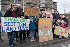 Save Bellfield Campaign Successful Land Fund Application | Edinburgh | 16 February 2017