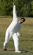 Naveed Haq during a practice of the Greater Dayton Cricket Club at Stubbs Park in Centerville, Thursday, June, 21st.