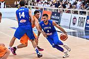DESCRIZIONE : Trento Nazionale Italia Maschile Trentino Basket Cup Italia Paesi Bassi Italy Netherlands <br /> GIOCATORE : Pietro Aradori<br /> CATEGORIA : Palleggio Penetrazione Blocco<br /> SQUADRA : Italia Italy<br /> EVENTO : Trentino Basket Cup<br /> GARA : Italia Paesi Bassi Italy Netherlands<br /> DATA : 30/07/2015<br /> SPORT : Pallacanestro<br /> AUTORE : Agenzia Ciamillo-Castoria/GiulioCiamillo<br /> Galleria : FIP Nazionali 2015<br /> Fotonotizia : Trento Nazionale Italia Uomini Trentino Basket Cup Italia Paesi Bassi Italy Netherlands