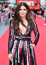 Sandra Bullock attending the European premiere of Oceans 8, held at the Cineworld in Leicester Square, London. Picture date: Wednesday 13th June, 2018. See PA story SHOWBIZ Oceans8. Photo credit should read: Ian West/PA Wire