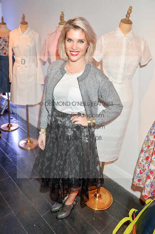 PIPS TAYLOR at the Cointreau launch for Yumi by Lilah Parsons SS/16 collection held at 15 Bateman Street, London on 1st December 2015