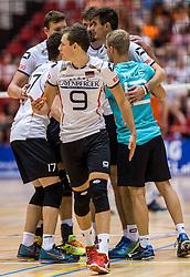 05-06-2016 NED: Nederland - Duitsland, Doetinchem<br /> Nederland speelt de laatste oefenwedstrijd ook in  Doetinchem en speelt gelijk 2-2 in een redelijk duel van beide kanten / Jan Zimmermann #9