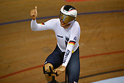 Men Individual Pursuit, Domenic Weinstein (Germany) Gold medal, during the Track Cycling European Championships Glasgow 2018, at Sir Chris Hoy Velodrome, in Glasgow, Great Britain, Day 4, on August 5, 2018 - Photo Luca Bettini / BettiniPhoto / ProSportsImages / DPPI - Belgium out, Spain out, Italy out, Netherlands out -