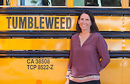 Erin Benfield, owner of Tumbleweed bus company.