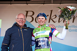 Lotta Lepistö (FIN) earns the points jersey at Healthy Ageing Tour 2019 - Stage 1, a 102.5 km road race starting and finishing in Borkum, Germany on April 10, 2019. Photo by Sean Robinson/velofocus.com