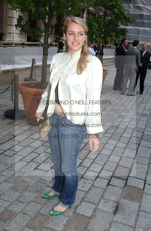 LAURA PARKER BOWLES at the Royal Academy of Arts Summer Exhibition Preview Party held at Burlington House, Piccadilly, London on 2nd June 2005<br /><br />NON EXCLUSIVE - WORLD RIGHTS