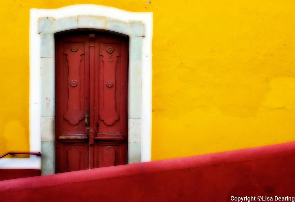 Red Door, Guanajuato, Mexico