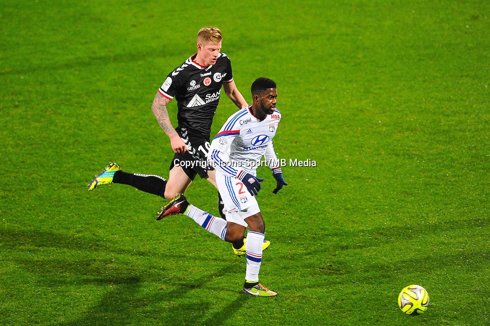 Arnold MVUEMBA  - 04.12.2014 - Lyon / Reims - 16eme journee de Ligue 1  <br /> Photo : Jean Paul Thomas / Icon Sport